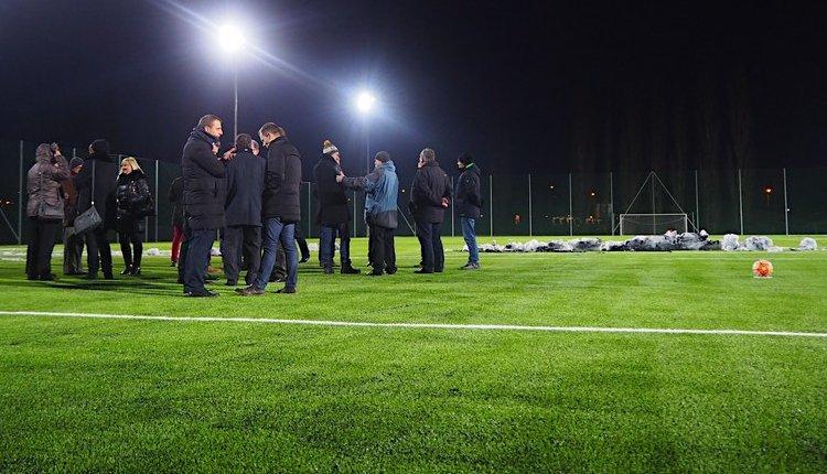 Otwarcie boiska piłkarskiego 16.01.2019